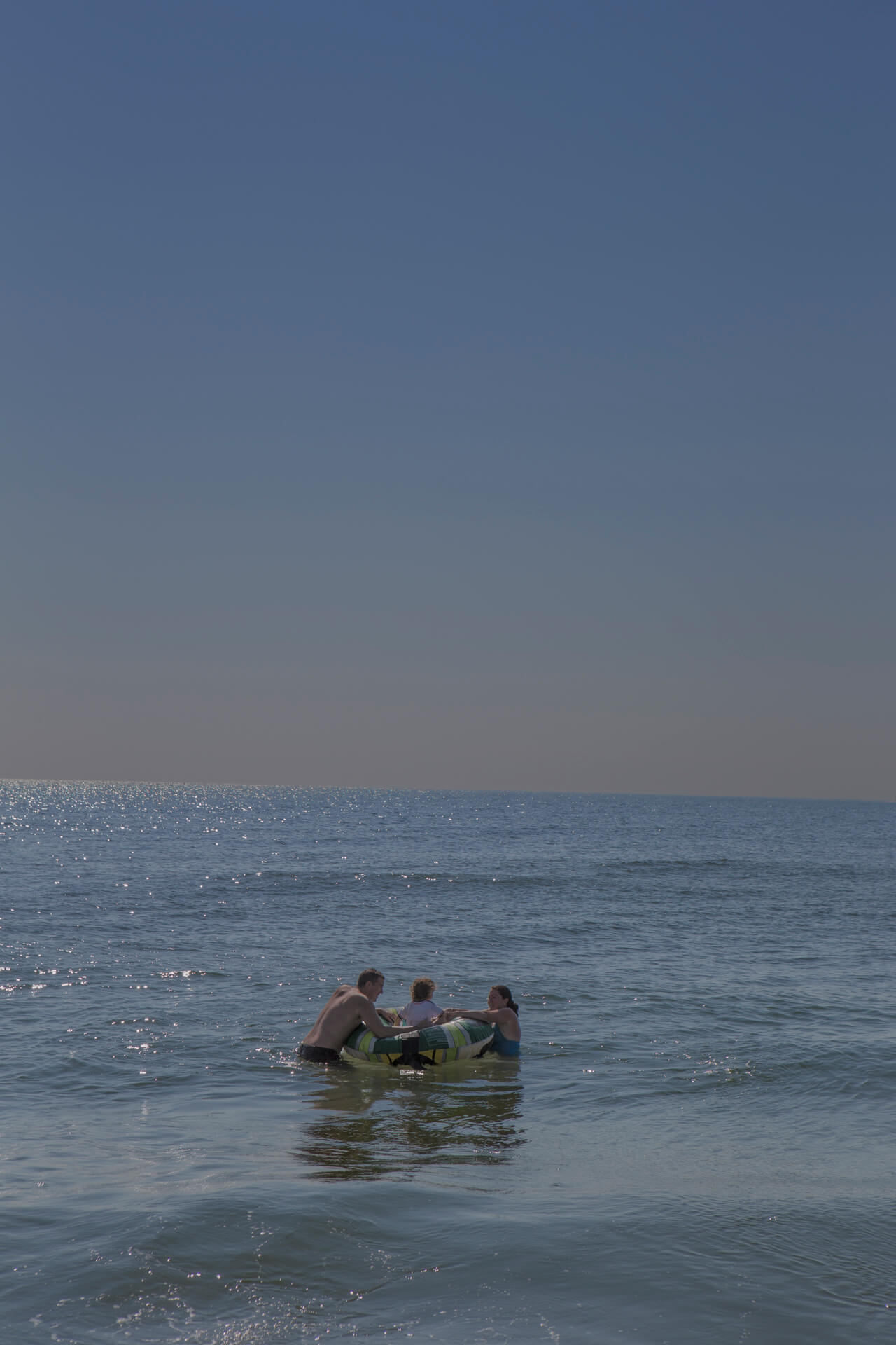 Matthew Swarts, Erik, Liam, and Kim, Long Beach Island, New Jersey, 2012.