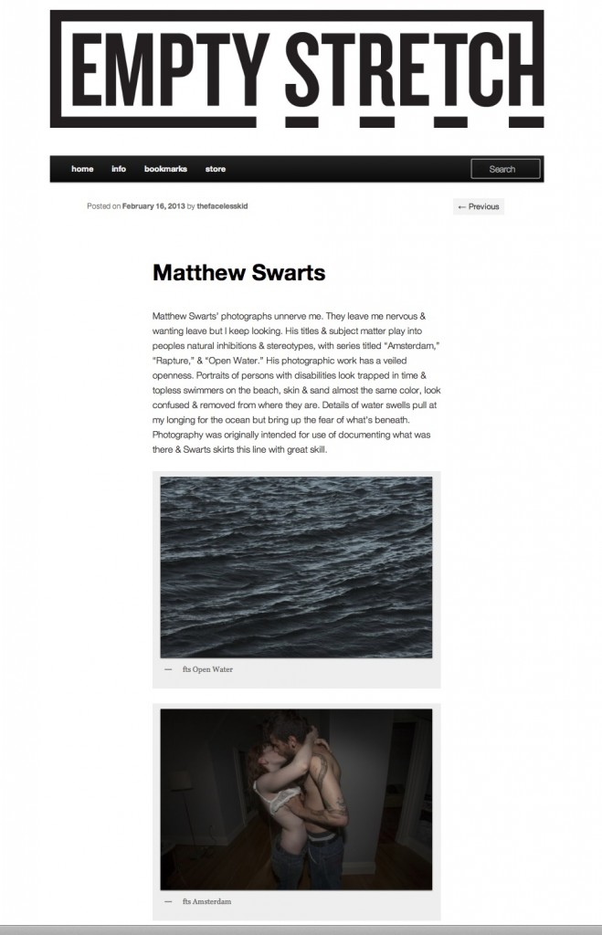 Matthew Swarts Matthew Swarts + Empty Stretch 659x1024 Matthew Swarts + EMPTY STRETCH